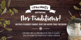 Concours Renaud Bray Partageons Nos Traditions