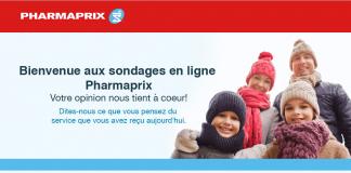 Concours Pharmaprix Sondage (PharmaprixSondage.com)