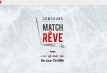 Concours RDS Match De Rêve