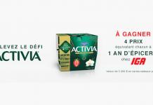 Concours IGA Défi Activia