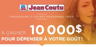 Concours Infolettre Jean Coutu