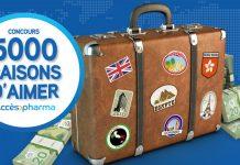 Concours 5 000 Raisons D'aimer Accès Pharma (5000Raisons.AccesPharma.ca)