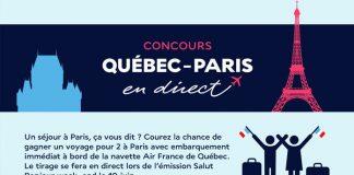 Concours Salut Bonjour Québec-Paris En Direct