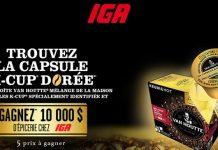 Concours IGA La Capsule K-Cup Dorée