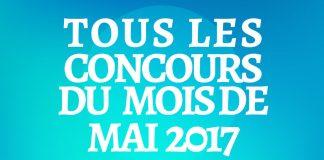 Concours Du Mois De Mai 2017