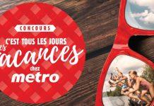 Concours C'est Tous Les Jours Les Vacances Avec Metro