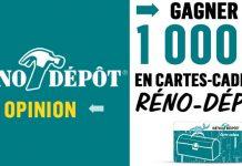Concours Sondage Opinion Réno-Dépôt
