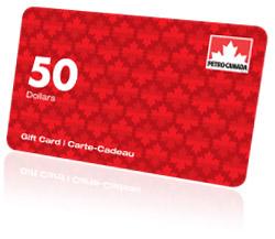 Cartes-cadeaux Petro-Canada