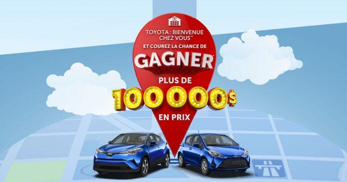 Concours Toyota Bienvenue Chez Vous