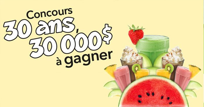 Concours Cora 30 Ans 000 Gagner
