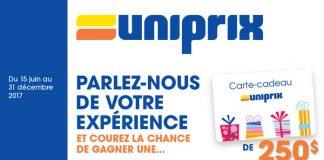 Concours Sondage Uniprix