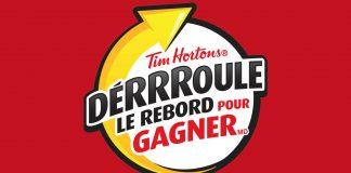 Concours Tim Hortons Déroule Le Rebord 2020