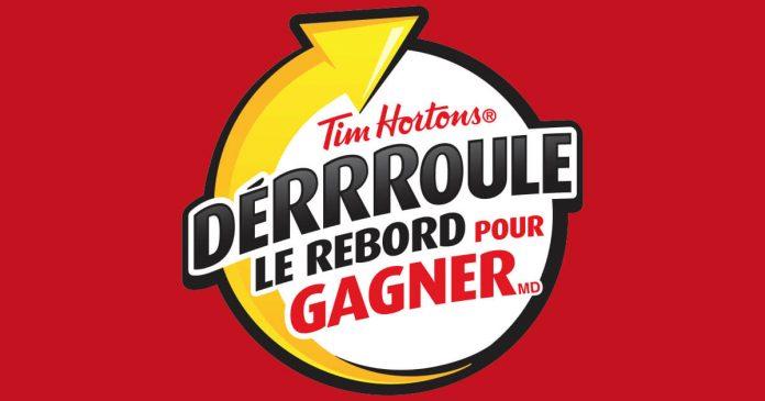 Concours Tim Hortons Déroule Le Rebord Pour Gagner 2018