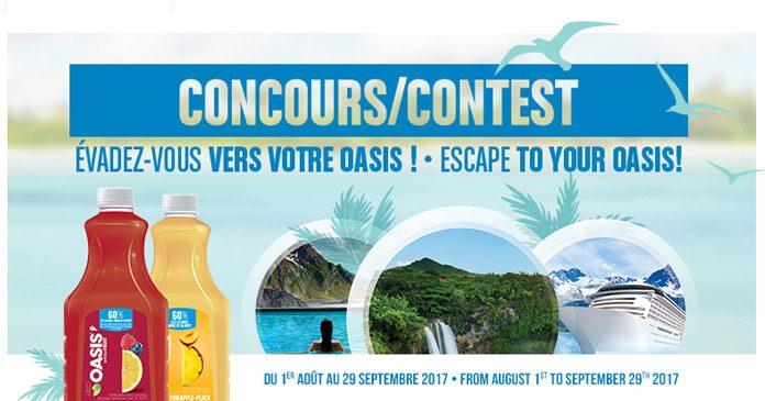 Concours Évadez-Vous Vers Votre Oasis Hydrafruit