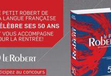 Concours Le Petit Robert De La Langue Française