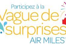 Concours Air Miles Vague De Surprises