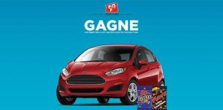 Concours Couche-Tard: Gagne Une Ford Fiesta 2017
