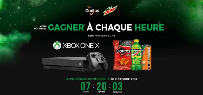Concours Doritos Gagne À Chaque Heure