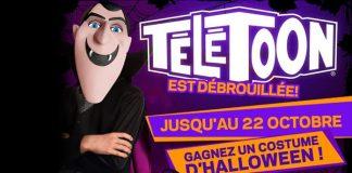 Concours Halloween de Télétoon