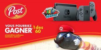 Concours Nintendo Switch de Post