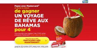 Concours Voyage De Rêve Aux Bahamas de Maxi