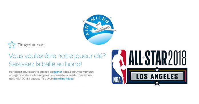 Concours Air Miles Étoiles De La NBA