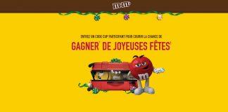 Concours M&M'S De Noël