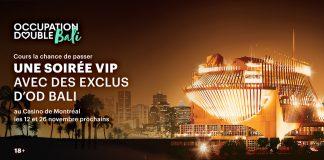 Concours Occupation Double Bali Soirées VIP Casino