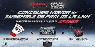 Concours Ensemble De Prix Honda LNH 2017