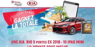 Concours Gagnez La Totale Avec Kia