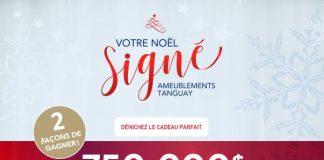 Concours Votre Noël Signé Tanguay