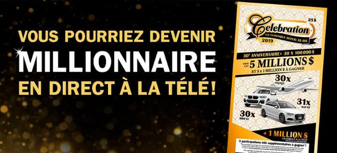 Concours Promo Célébration de Loto-Québec