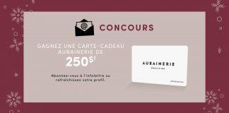 Concours Aubainerie 2018