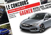 Concours Honda Civic 2018