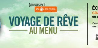 Concours Voyage De Rêve Au Menu de Gravel Le Matin