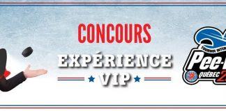 Concours IGA Expérience VIP