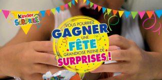 Concours Kinder Surprise Surprenez-Les À Votre Tour