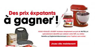 Concours NUTELLA Programme De Crêpes