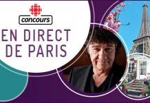 Concours Radio-Canada En Direct De Paris