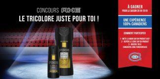 Concours AXE Le Tricolore Juste Pour Toi
