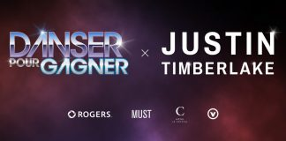 Concours Danser Pour Gagner et Justin Timberlake