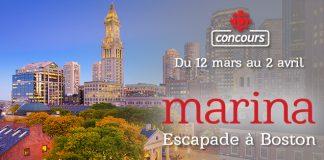 Concours Marina Orsini Escapade à Boston