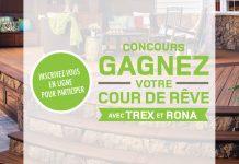 Concours RONA Gagnez Votre Cour De Rêve Avec TREX