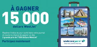 Concours WestJet du Journal de Montréal/Québec