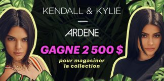 Concours Ardène Kendall and Kylie