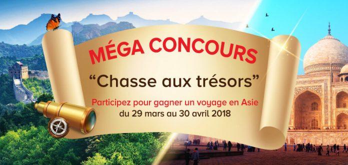 Concours Chasse Aux Trésors de Sinorama