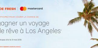 Concours Joe Fresh et Mastercard Voyage De Rêve