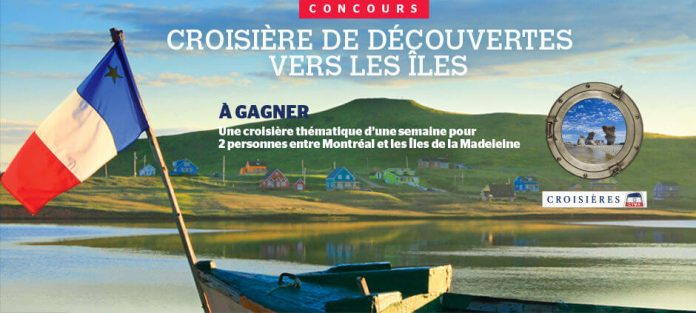 Concours Journal De Montréal Croisières CTMA