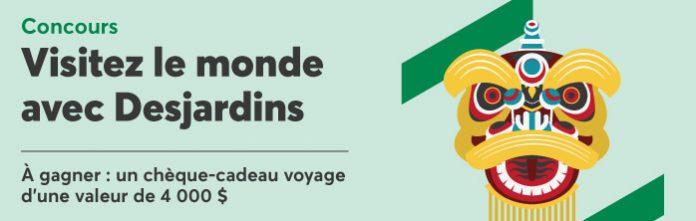 Concours Visitez Le Monde Avec Desjardins