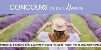 Concours Uniprix Bleu Lavande